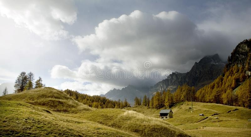 Mountain Landscapes royalty free stock photography