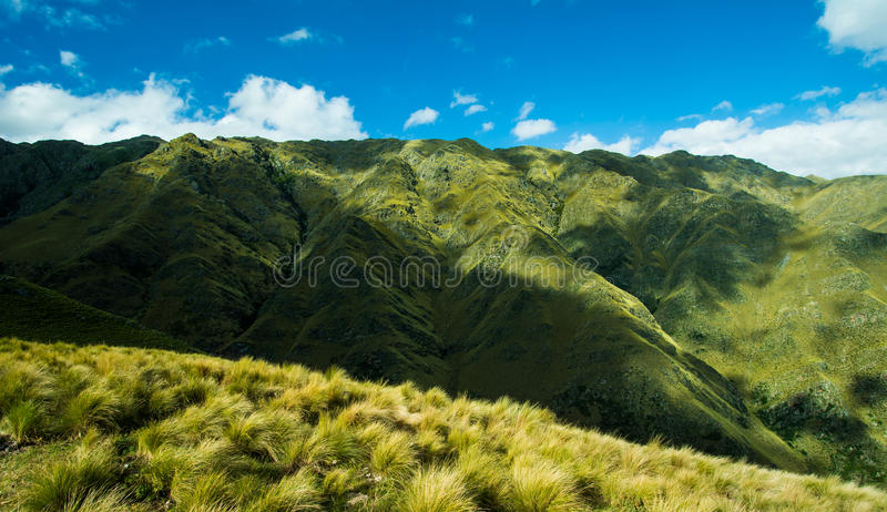 Mountain landscapes stock photo