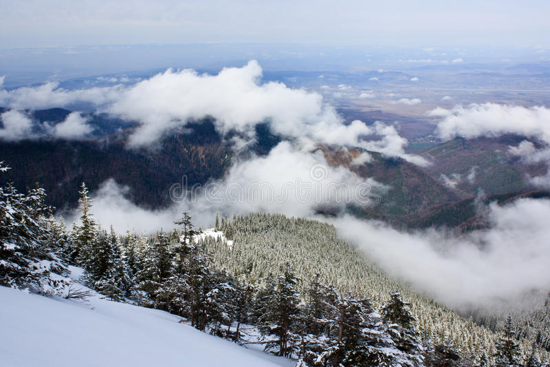 Mountain lanscape royalty free stock photography