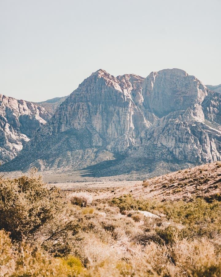 Mountain las vegas stock image