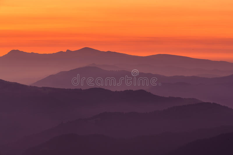 Download Mountain layers stock photo. Image of garbea, mountains - 31519900