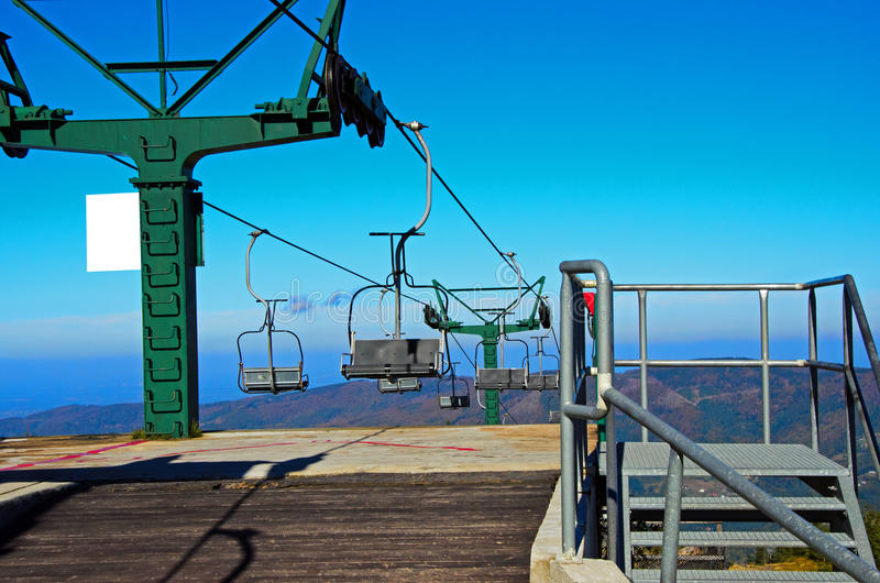 Download Mountain Lift In Autumn Stock Images - Image: 27796144