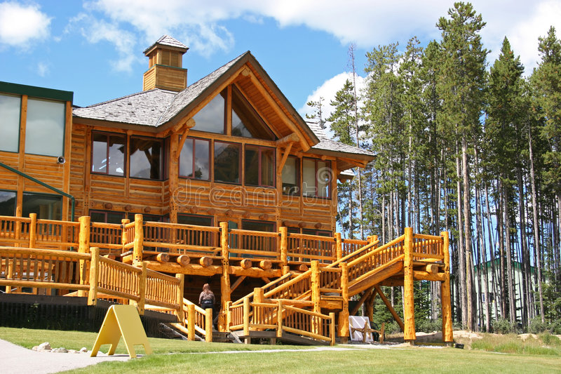 Mountain Lodge royalty free stock images