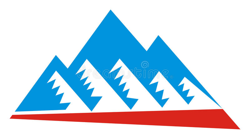 Download Mountain Logo Royalty Free Stock Photography - Image: 21304747