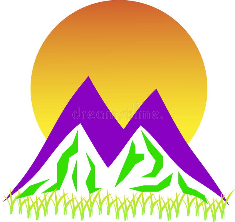 Download Mountain logo stock vector. Image of environment, commercial - 26194782