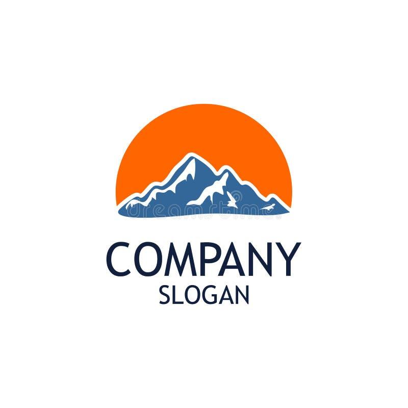 Mountain Logo Design Template Vector vector illustration