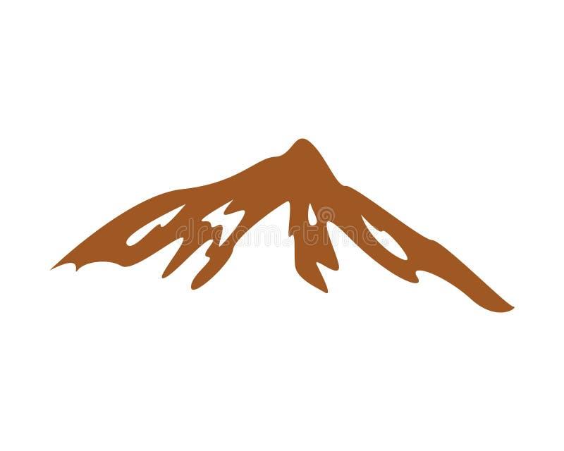 Mountain Logo icon Business Template Vector. stock illustration