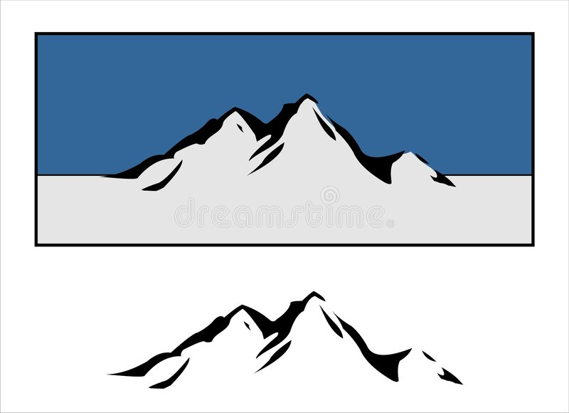 Download Mountain Logos Stock Photography - Image: 5743312