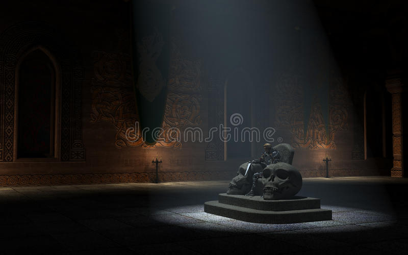 Download Mountain Lord Enthroned Royalty Free Stock Image - Image: 11636176