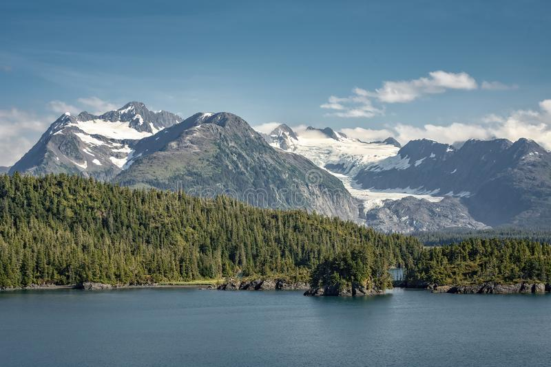 Mountain Majesty in Alaska royalty free stock photography