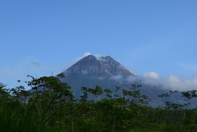 Mountain Merapi royalty free stock images