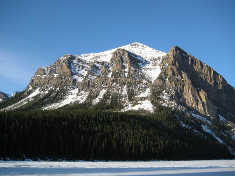 Mountain In The Morning Sun stock photo