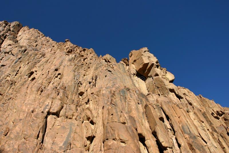 Mountain Mt Sinai royalty free stock photos