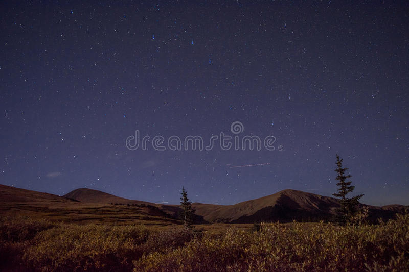 Mountain Night royalty free stock image