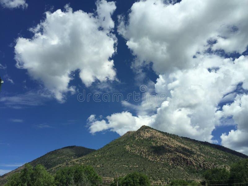 Mountain Oasis. Arizona mountain view stock image
