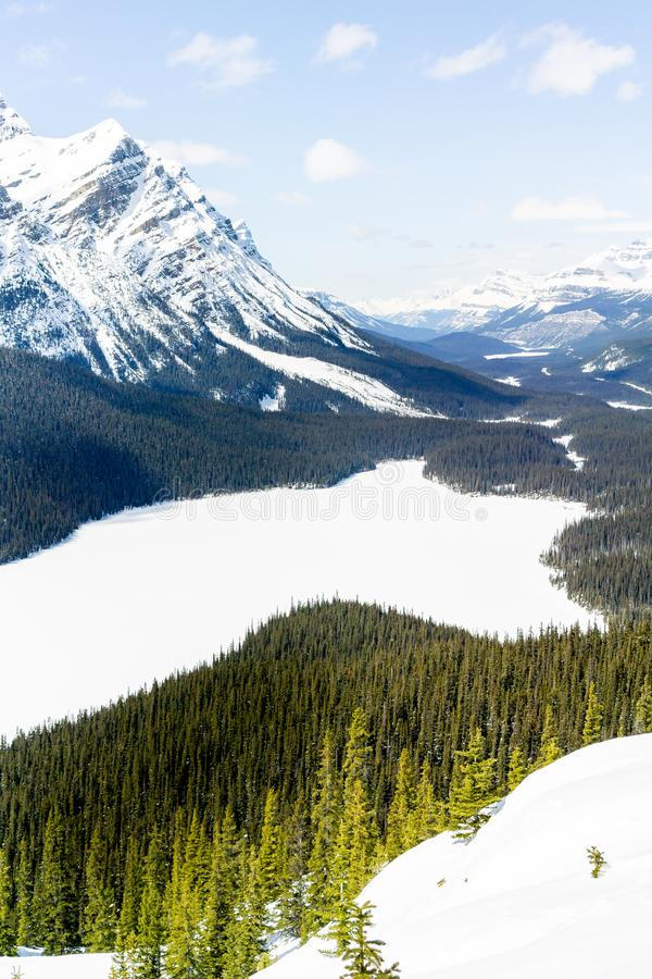 Mountain Overlook- 4 royalty free stock photos