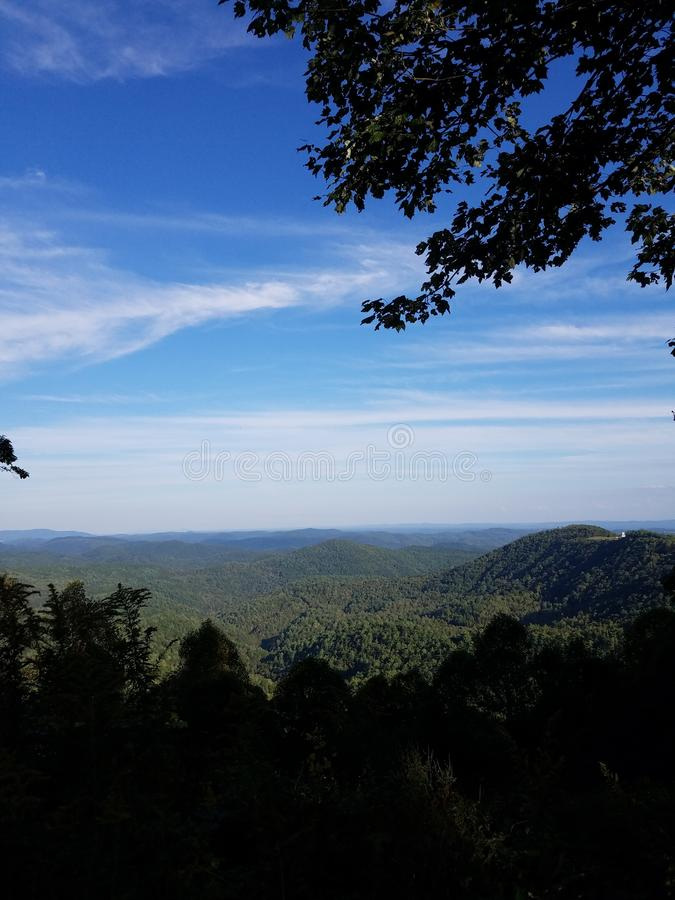 Mountain Overlook royalty free stock photos