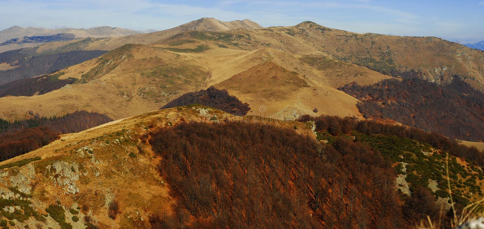 Download Mountain panorama stock photo. Image of hill, wide, landscape - 16824492