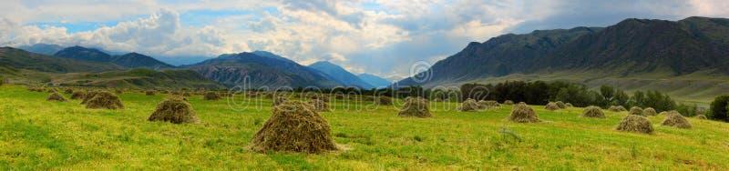 Mountain panorama stock photo