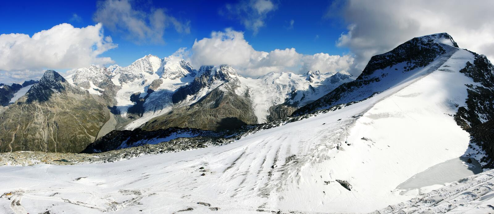 Download Mountain panorama stock image. Image of landscape, snow - 29004323