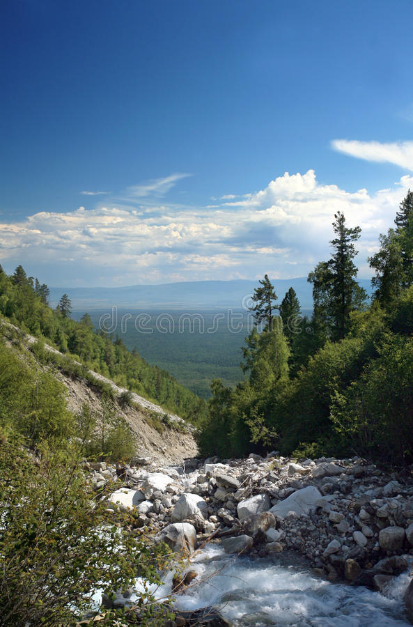 Download Mountain Panorama Stock Photography - Image: 38111152