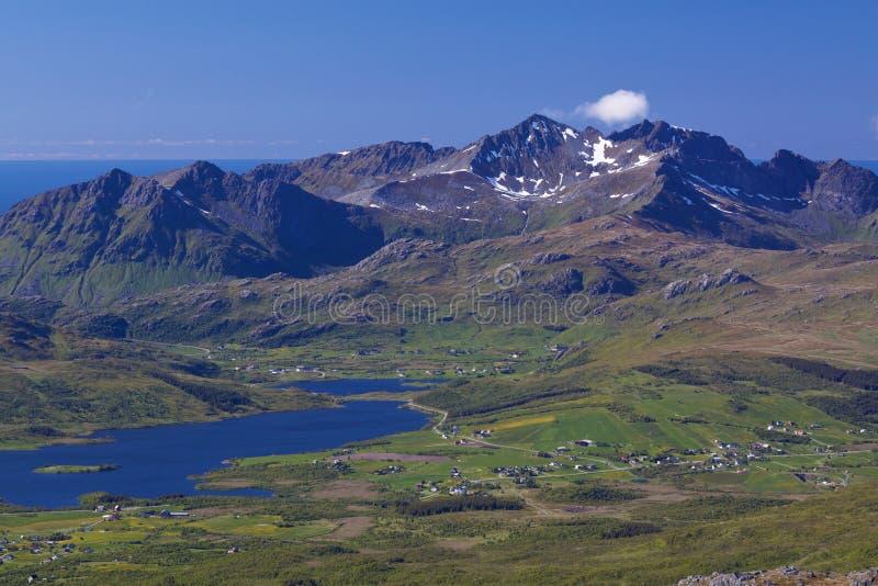 Download Mountain Panorama On Lofoten Stock Photo - Image: 25944980