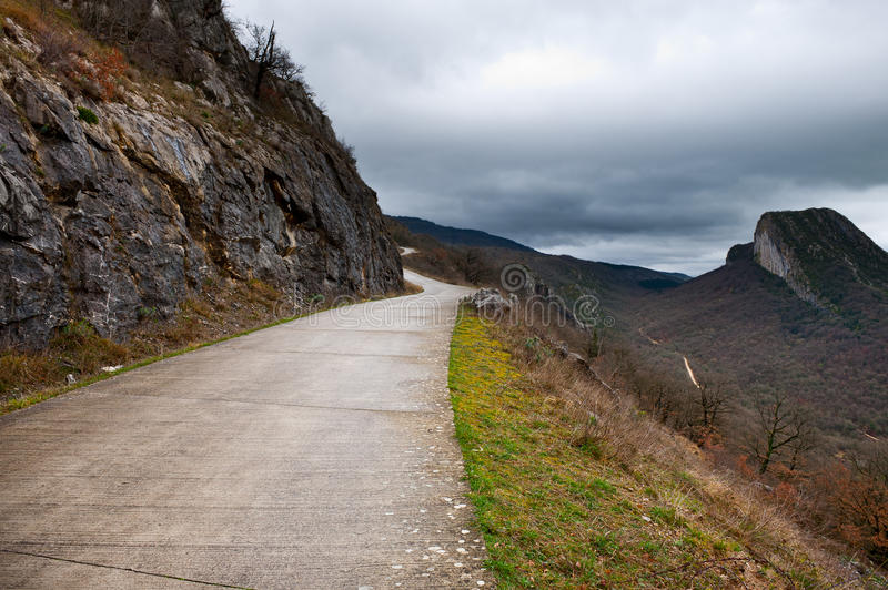 Mountain Pass royalty free stock images