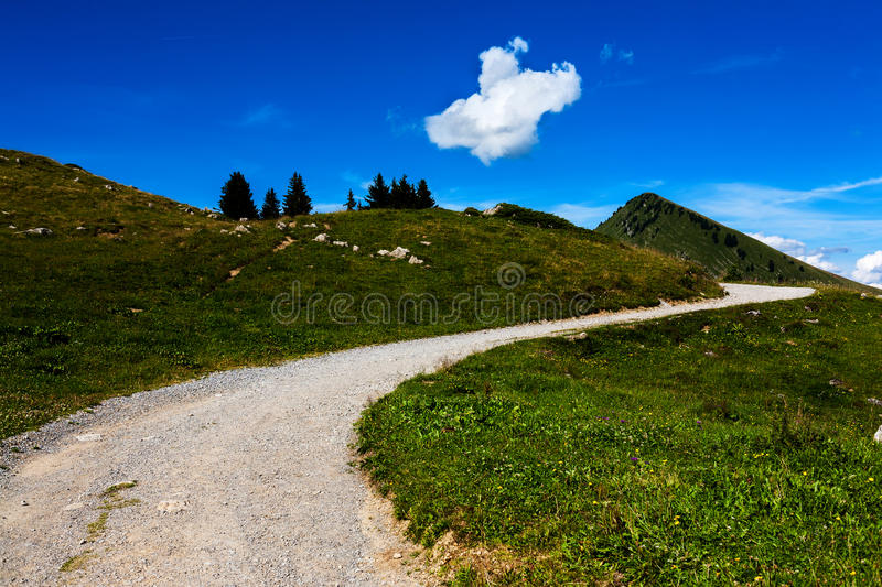 Download Mountain path stock photo. Image of environmental, meadow - 38496834