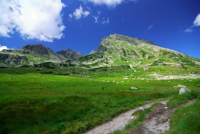 Mountain path. Photo Tatra mountain in Poland stock photos