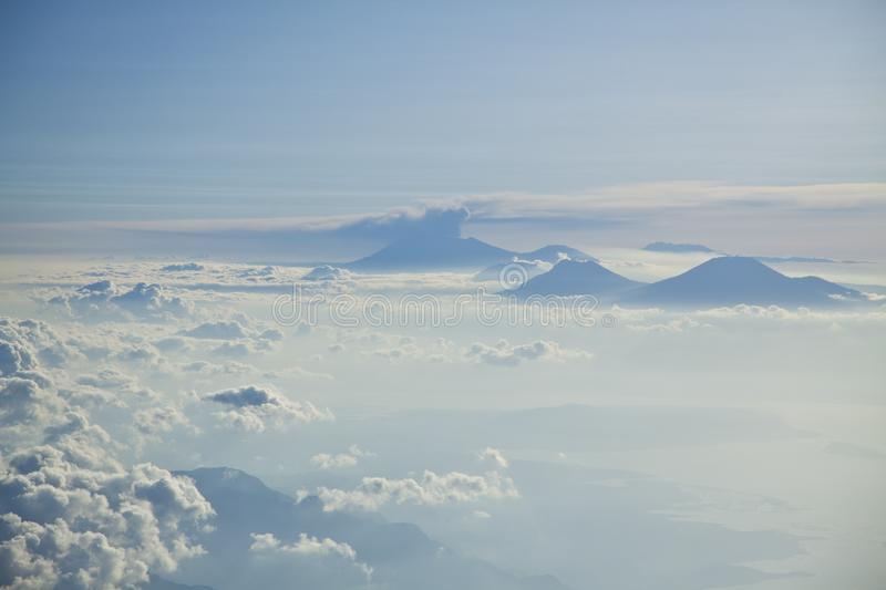 Mountain Peaks Above Clouds Free Public Domain Cc0 Image