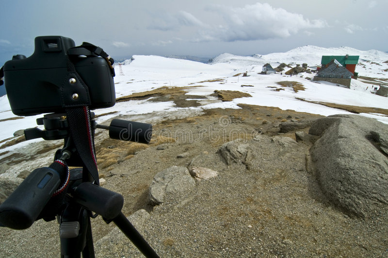 Mountain photography stock photo