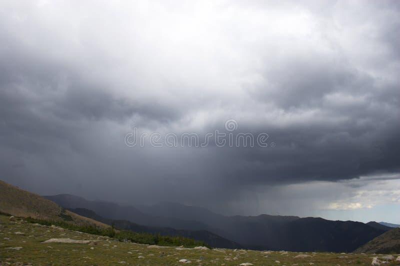 Mountain Rain Stock Photos