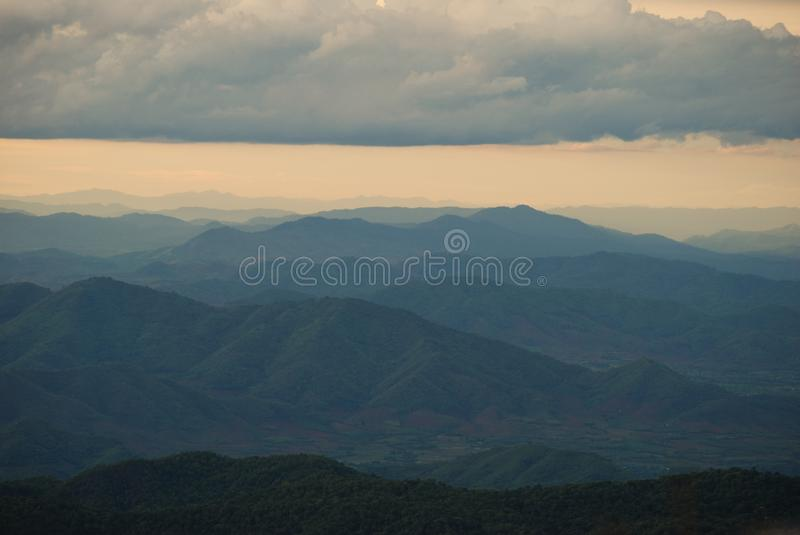 Download Mountain range stock photo. Image of park, cold, morning - 14807296