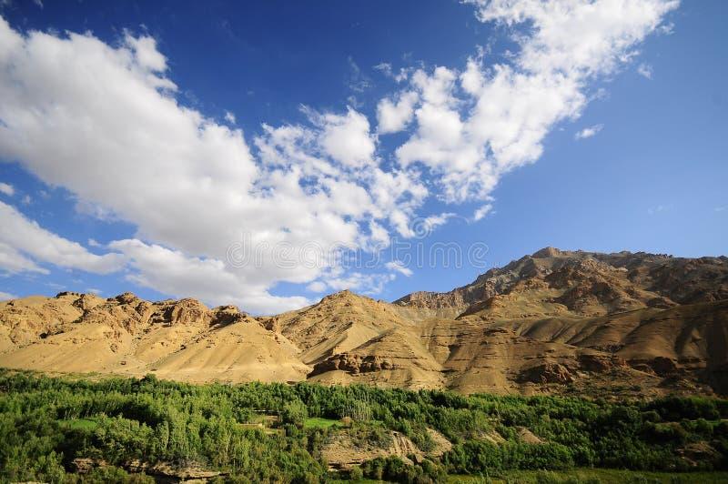 Download The mountain range stock image. Image of moon, land, indian - 25608969
