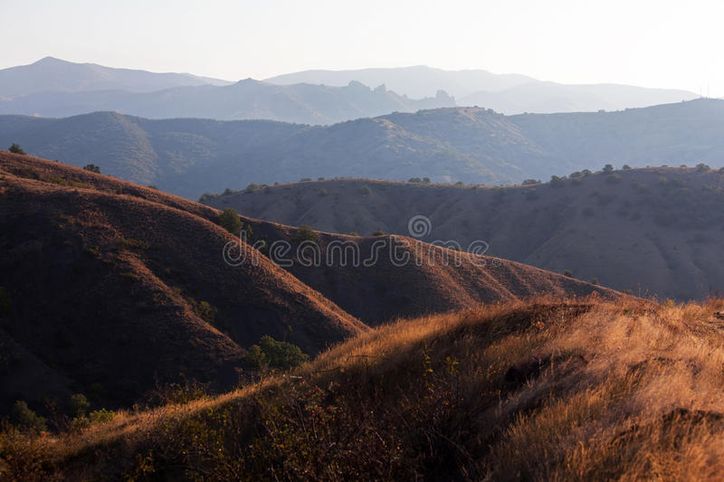 Mountain range royalty free stock image