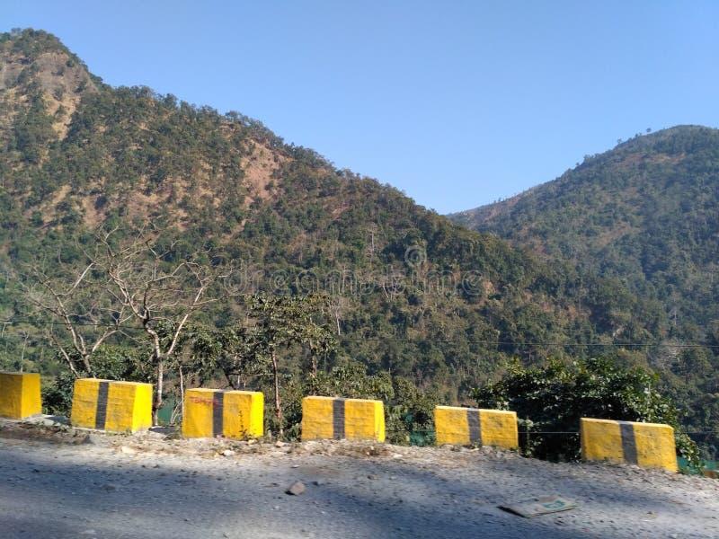 Mountain range. Beautiful mountain ranges during the visit to sikkim royalty free stock photo