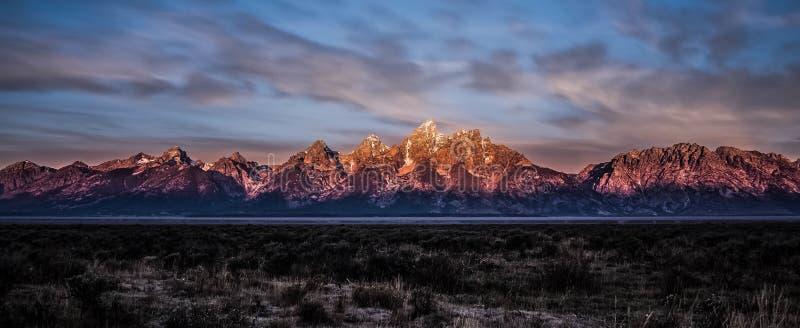 Mountain Range Landscape stock photography