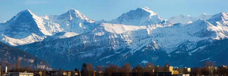 Mountain Range Landscape Photo stock photo