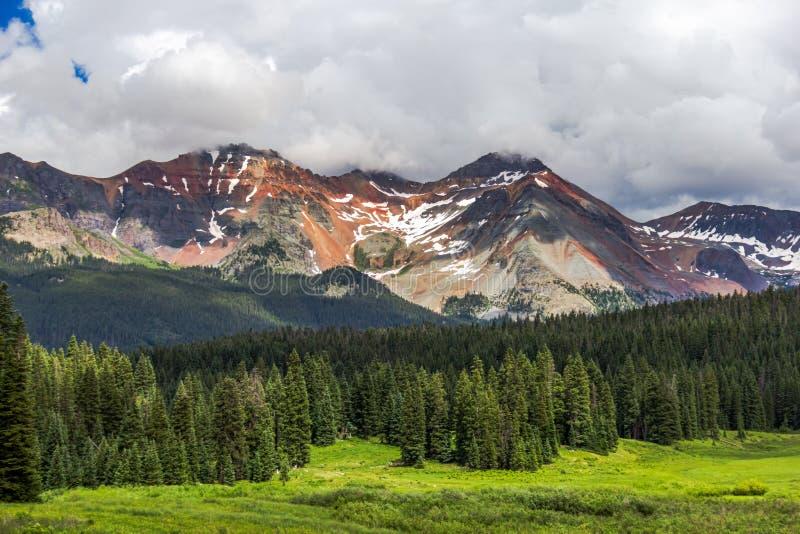 Rocky Mountains Colorado, USA stock photography
