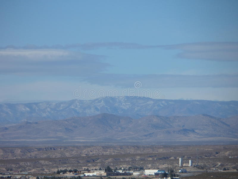 Mountain Range in New Mexico royalty free stock images