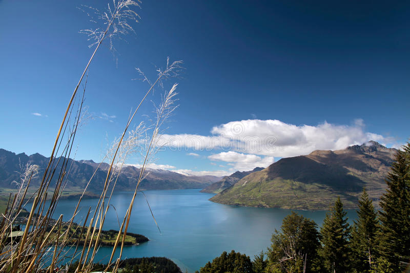 Download Mountain Range The Remarkables From Bobs Peak Stock Image - Image: 24199731