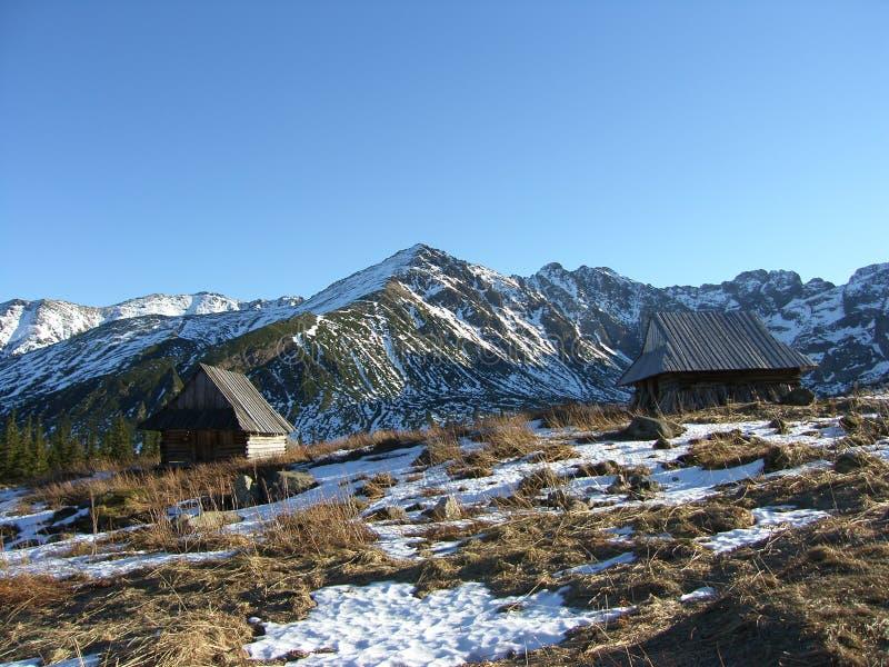Mountain refuge stock photos