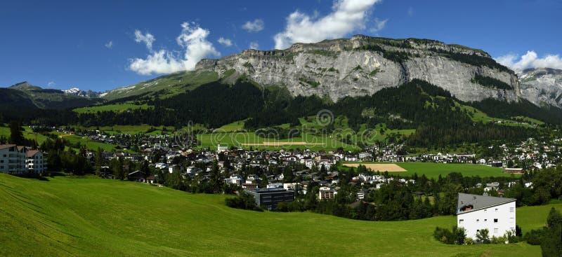 Flims, Alp Nagens, Graubunden, Switzerland stock photos