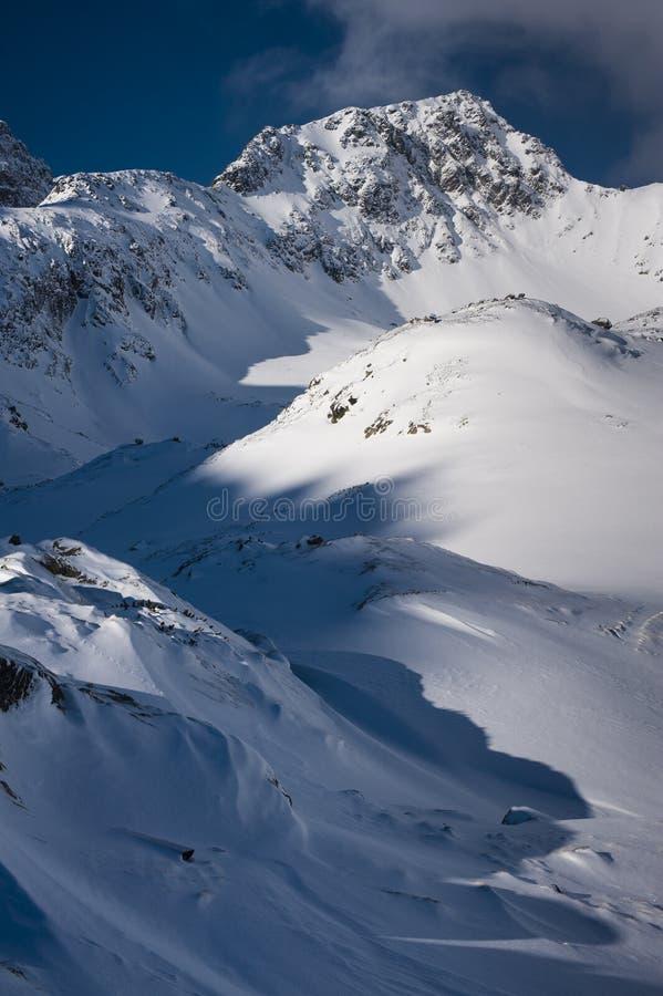 Mountain ridge vertical stock images