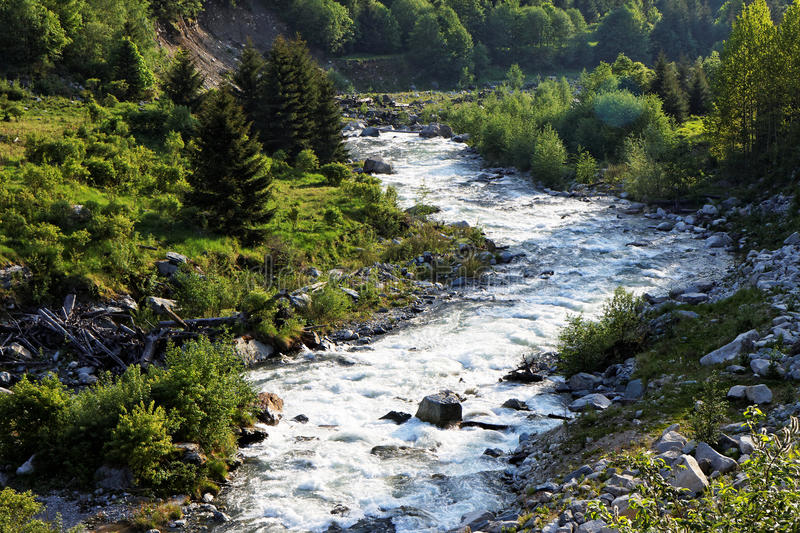 Download Mountain river stock photo. Image of romania, river, water - 14229206