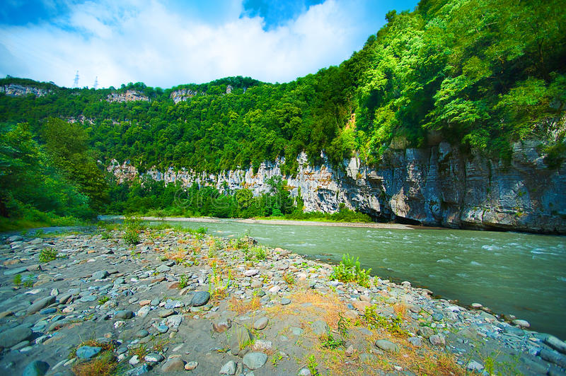 Download Mountain river stock photo. Image of nature, serene, river - 25802818