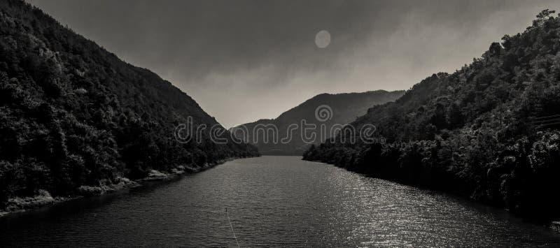 Mountain&river стоковые фотографии rf