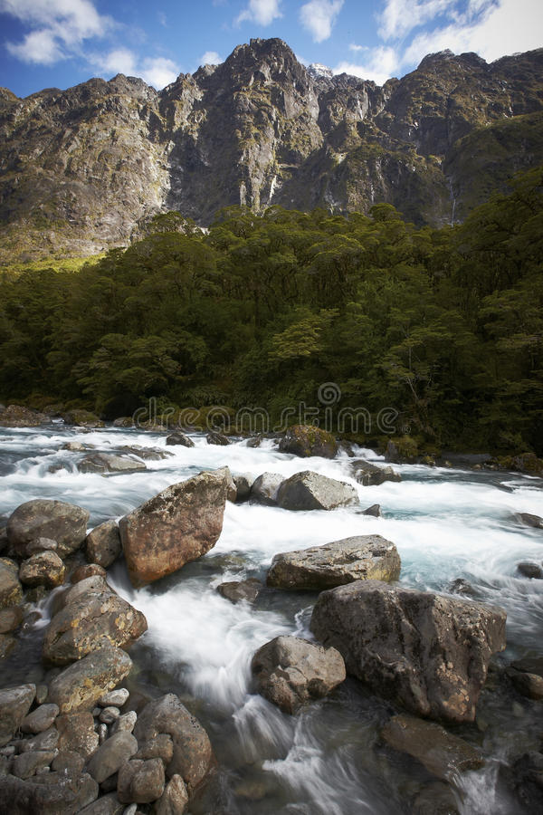Free Mountain River Skipping Over The Rocks Royalty Free Stock Images - 13749289