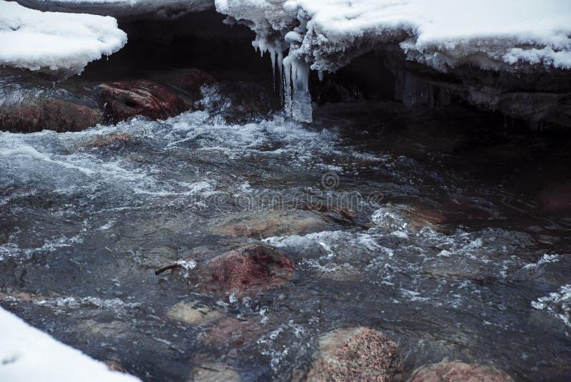 Mountain River stock image