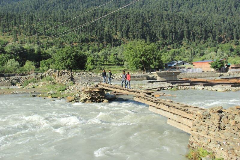 Mountain River. stock photo